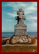 Ile De Sein , Le Monument Des Ffl  ( Scan Recto Et Verso ) - Ile De Sein