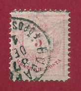 Hungría - 5 Kr - 1881 - Used Stamps