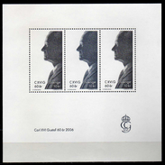 Sweden 2006 The 60th Anniversary Of The Birth Of King Carl XVI Gustaf.S/S.MNH - Suède