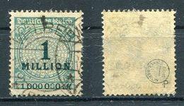 Deutsches Reich Michel-Nr. 314P Vollstempel - Geprüft