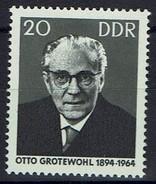 DDR 1965 - MiNr 1153 - Otto Grotewohl. - Ungebraucht