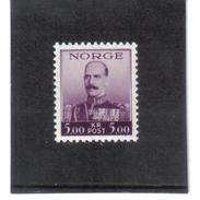 GUT410 NORWEGEN 1937  MICHL  194 ** Postfrisch  SIEHE ABBILDUNG - Norwegen