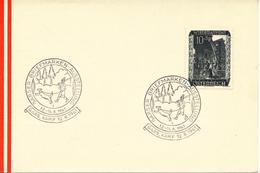 ÖSTERREICH - Sonderstempel - Mi,Nr,  858       Garser  Briefmarken- Ausstellung  12,08,1961 - Poststempel - Freistempel