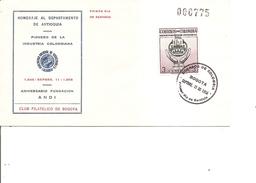 Colombie ( FDC De 1956 à Voir) - Colombia