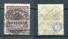 Deutsches Reich Michel-Nr. 315a Vollstempel - Geprüft