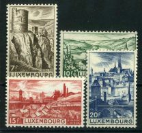 LUXEMBOURG  ( POSTE ) :Y&T N°  406/409  TIMBRES  NEUFS  SANS  TRACE  DE  CHARNIERE  , A  VOIR . - Luxembourg