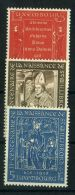 LUXEMBOURG  ( POSTE ) :Y&T N°  542/544  TIMBRES  NEUFS  SANS  TRACE  DE  CHARNIERE  , A  VOIR . - Luxembourg