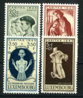 LUXEMBOURG  ( POSTE ) :Y&T N°  384/387  TIMBRES  NEUFS  SANS  TRACE  DE  CHARNIERE  , A  VOIR .