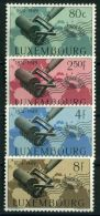 LUXEMBOURG  ( POSTE ) :Y&T N°  425/428  TIMBRES  NEUFS  SANS  TRACE  DE  CHARNIERE  , A  VOIR .