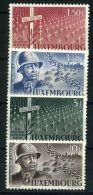 LUXEMBOURG  ( POSTE ) :Y&T N°  398/401  TIMBRES  NEUFS  SANS  TRACE  DE  CHARNIERE  , A  VOIR .