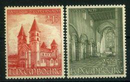 LUXEMBOURG  ( POSTE ) :Y&T N°  473/474  TIMBRES  NEUFS  SANS  TRACE  DE  CHARNIERE  , A  VOIR .
