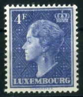 LUXEMBOURG  ( POSTE ) :Y&T N°  422  TIMBRE   NEUF  SANS  TRACE  DE  CHARNIERE  , A  VOIR . - Luxembourg