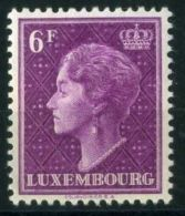 LUXEMBOURG  ( POSTE ) :Y&T N°  423  TIMBRE   NEUF  AVEC  TRACE  DE  CHARNIERE  , A  VOIR . - Luxembourg