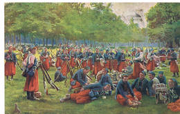 C Oorlog 14/18 Guerre 14/18 Zouaves - Guerre 1914-18