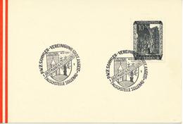 ÖSTERREICH - Sonderstempel - Mi,Nr,  858     Briefmarken- Ausstellung  Tauschstelle Sollenau  4.9.1961 - Poststempel - Freistempel