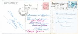 """Belgische Tweetaligheid Bilinguisme Belge """"Kolen Koopt Uw Voorraad In De Zomer - Charbon Faites Vos Provisions En été """" - Postmark Collection"""