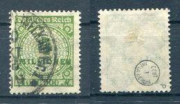 Deutsches Reich Michel-Nr. 316P Gestempelt - Geprüft