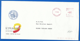 Mairie  (1640) EYRAGUES 13630 - 07 06 1999 - Marcophilie (Lettres)