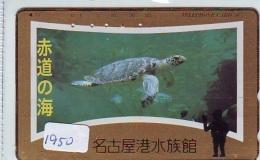 Télécarte Japon * TURTLE *  (1950) PHONECARD JAPAN * * TORTUE *   TELEFONKARTE * SCHILDKRÖTE