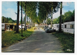 BRAY SUR SOMME - LE CAMPING - CPSM GF VOYAGEE - Bray Sur Somme