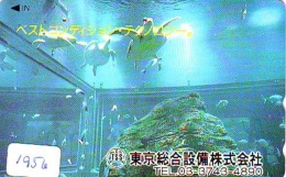 Télécarte Japon * TURTLE *  (1956) PHONECARD JAPAN * * TORTUE *   TELEFONKARTE * SCHILDKRÖTE - Turtles