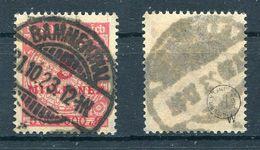 Deutsches Reich Michel-Nr. 317W Vollstempel - Geprüft