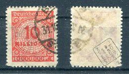 Deutsches Reich Michel-Nr. 318B Gestempelt - Geprüft