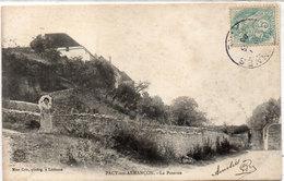 PACY SUR ARMANCON ( La Poterne - Beau Cachet Perlé De ETIVEY (Yonne)    (96990) - Autres Communes