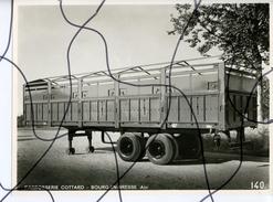 PHOTO A IDENTIFIÉE. Remorque. Carrosserie COTTARD BOURG En BRESSE  AIN. Photo CORREARD BOURG - Automobili