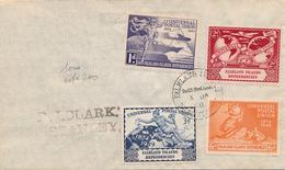 Lettre Falkland Islands Serie Universal Postal Union 1849 - Falkland