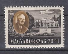 Ungarn 70 F +  70 F Präsident Roosevelt 1947  - ** Ungebraucht