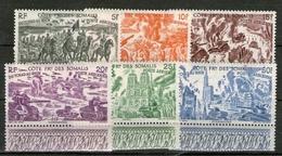 !!! COTE DES SOMALIS SERIE PA TCHAD AU RHIN NEUVE ** - Côte Française Des Somalis (1894-1967)