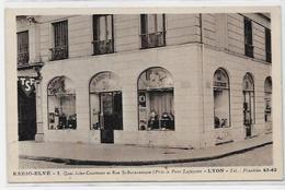 CPA Radio TSF Télégraphie Lyon Devanture De Commerce Non Circulé - Industry