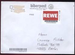 Biber Post REWE (Heftchenmarke) (45) Gez Neues Logo Gel. 03.12.2012 BP065 - [7] Repubblica Federale