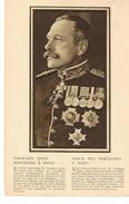 C Oorlog 14/18 Guerre 14/18  Moed We Vergeten U Niet  Douglas Haig - War 1914-18