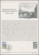 Collection Historique: Réunion De La Franche-Comte Besancon / Dole 23.9.1978