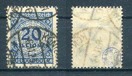 Deutsches Reich Michel-Nr. 319P Gestempelt - Geprüft