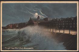 Lancashire Postcard - Rough Sea, West End, Morecambe   DC31 - England