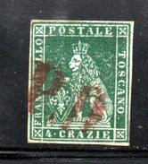 486 AK - TOSCANA , 4 Crazia N. 6 : Usato DIENA - Toscana