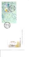 Echecs ( FDC De Lettonie De 2001 Avec BF à Voir)