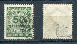 Deutsches Reich Michel-Nr. 321P Gestempelt - Geprüft