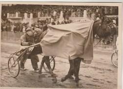 Hippisme Photo New York Times Fin Des Années 30 Cheval Sulky Trot ( Vincennes ? ) Driver Et Propriétaire Après L'arrivée - Equitation