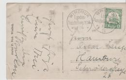 DTK092 / DSW, Original Fotokarte Zur Landesausstellung Windhuk 1914 Mit Sonderstempel