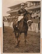 Hippisme Photo New York Times AUTEUIL 19/2/1939 Prix Clermont Tonnerre Cheval TEREK Jockey SENTIER Prop. TISSOT - Equitation
