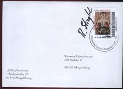 Biber Post, Brief Mit Autogramm Mi 152 Robert Stieglitz 0,45 Glatt Langer UPOC (11.06.2011) BP095
