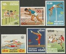 Timbres Du Bangladesh Série De 1976 Y&T N° 80 /85 MLH * 6 Valeures Cote 4.00 € Départ à 50 % - Estate 1976: Montreal