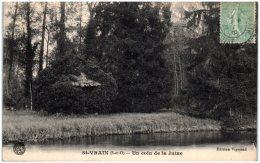 91 SAINT-VRAIN - Un Coin De La Juine   (Recto/Verso) - Saint Vrain