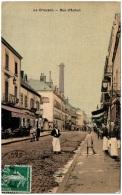 71 LE CREUSOT - Rue D'Autun   (Recto/Verso) - Le Creusot