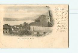 Lac D'AIGUEBELETTE Et Quartier De L'Eglise. Dos Simple. Vue Générale. 2 Scans. Edition Reynaud - Autres Communes