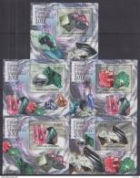 E41. Comoros - MNH - Minerals - 2011 - Deluxe